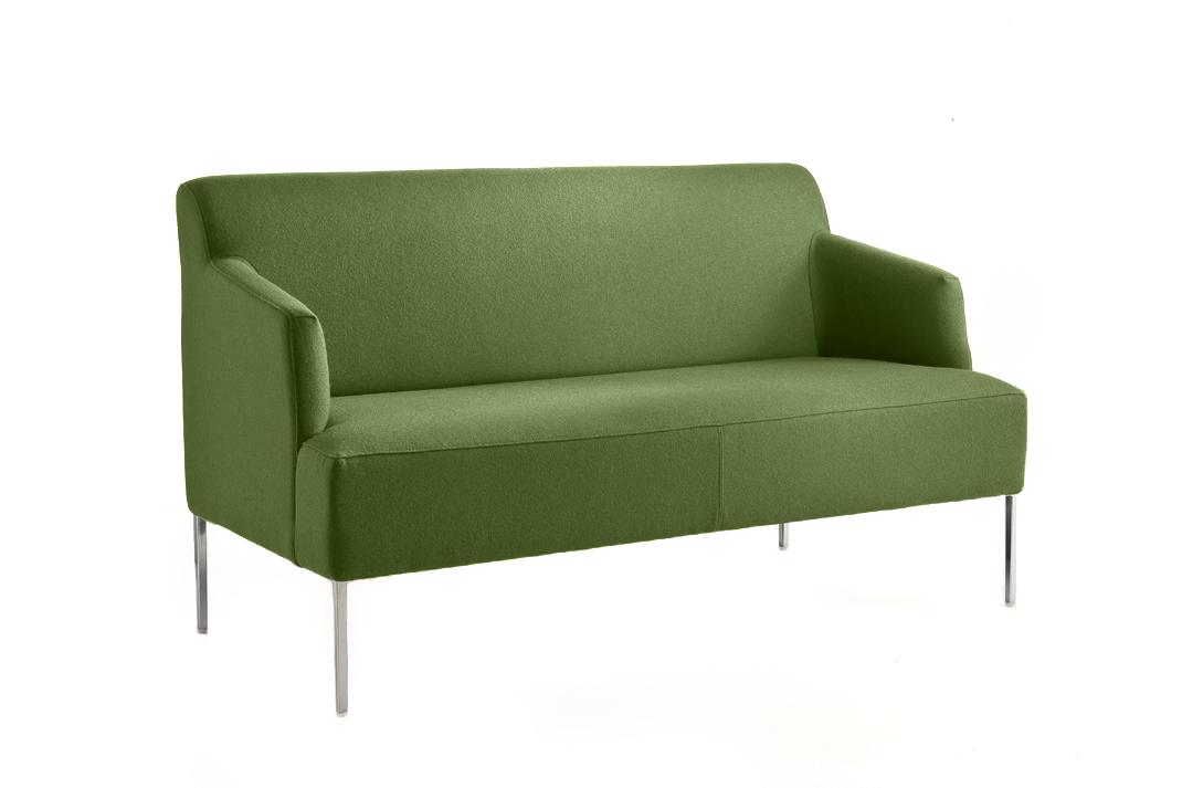 canap vert fonc pour accueil bureau espace d tente. Black Bedroom Furniture Sets. Home Design Ideas