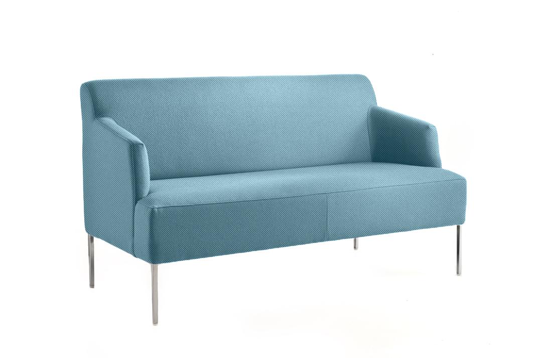 canap bleu ciel pour accueil bureau espace d tente. Black Bedroom Furniture Sets. Home Design Ideas