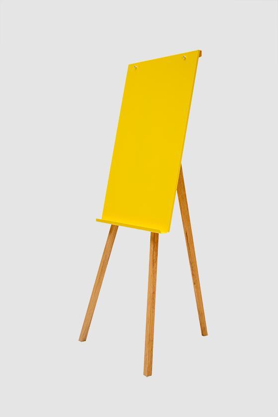 tableau_chevalet_magnetique_jaune