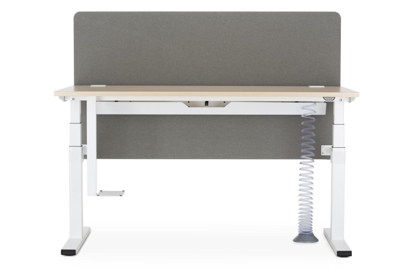Bureau r glable en hauteur lectrique 160 x 80 cm - Bureau reglable en hauteur electrique ...