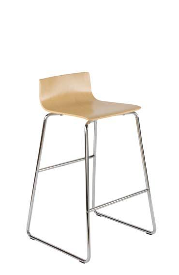 Chaise haute en bois Cafe VII
