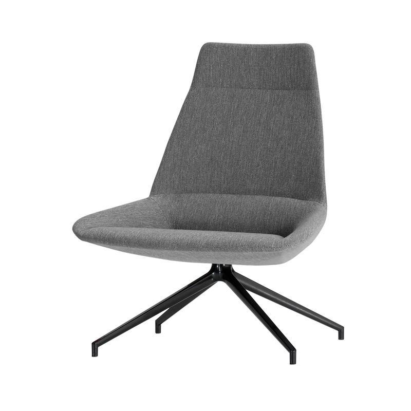 fauteuil lounge dossier haut pour bureaux. Black Bedroom Furniture Sets. Home Design Ideas