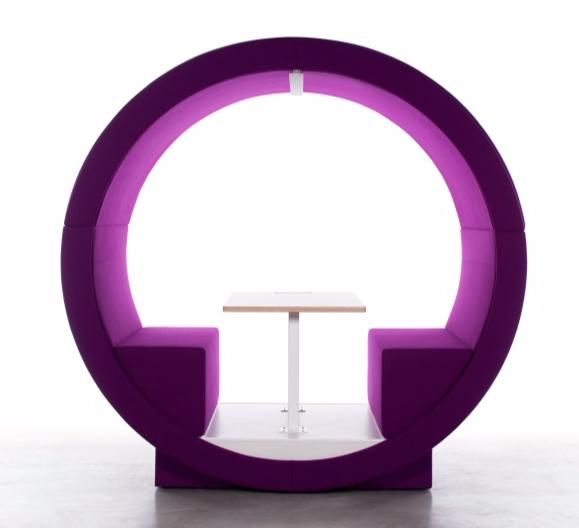 module-acoustique-bureau-violet