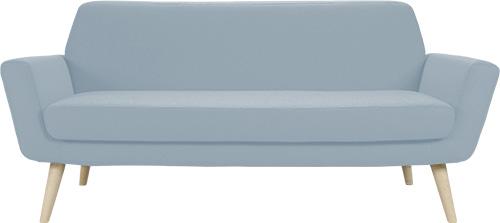 canap design scandinave pour bureaux ou espace accueil. Black Bedroom Furniture Sets. Home Design Ideas