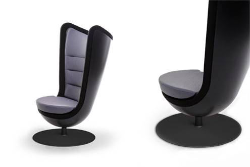fauteuil de bureau insonoris et design. Black Bedroom Furniture Sets. Home Design Ideas