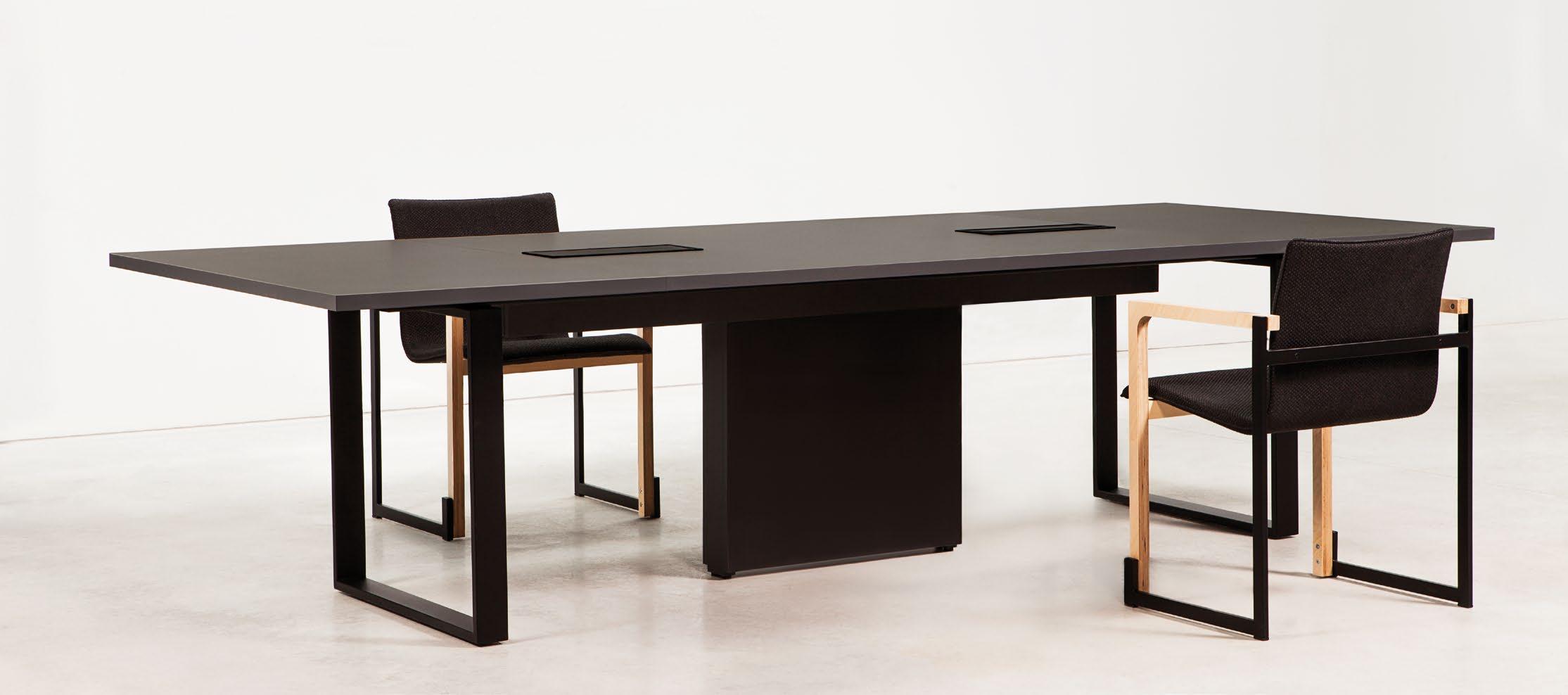 table de r union design mobilier de bureau. Black Bedroom Furniture Sets. Home Design Ideas