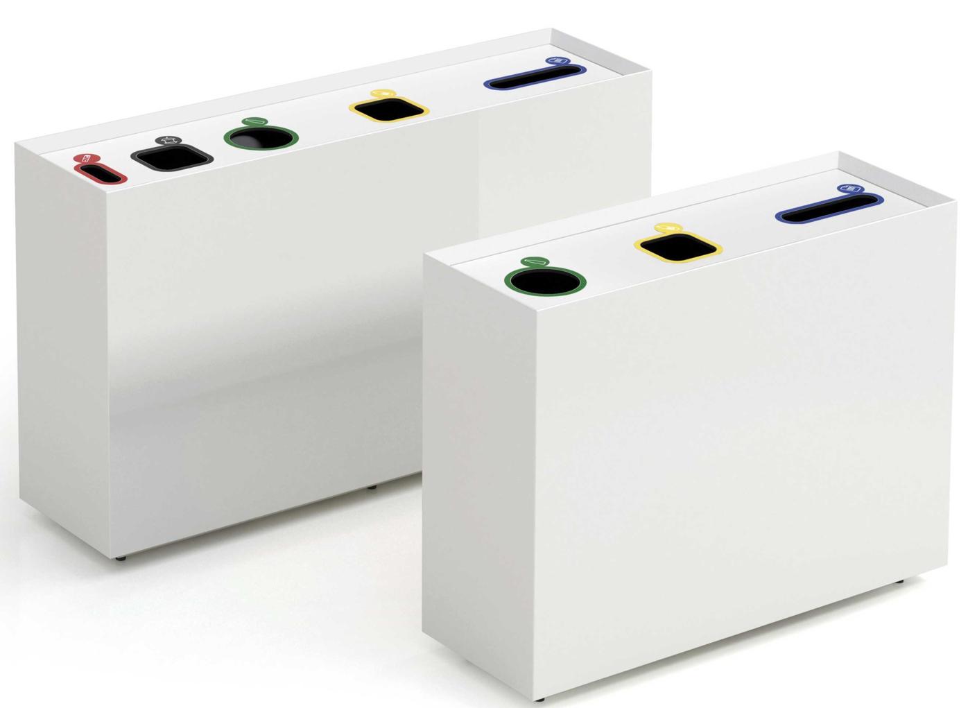 poubelle corbeille de tri s lectif pour bureau d 39 entreprise. Black Bedroom Furniture Sets. Home Design Ideas