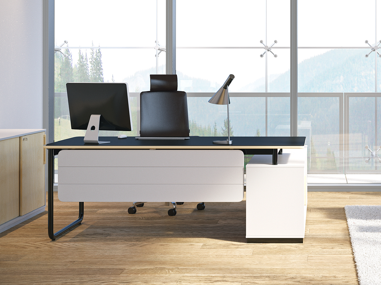Bureau de direction design avec retour Play&Work