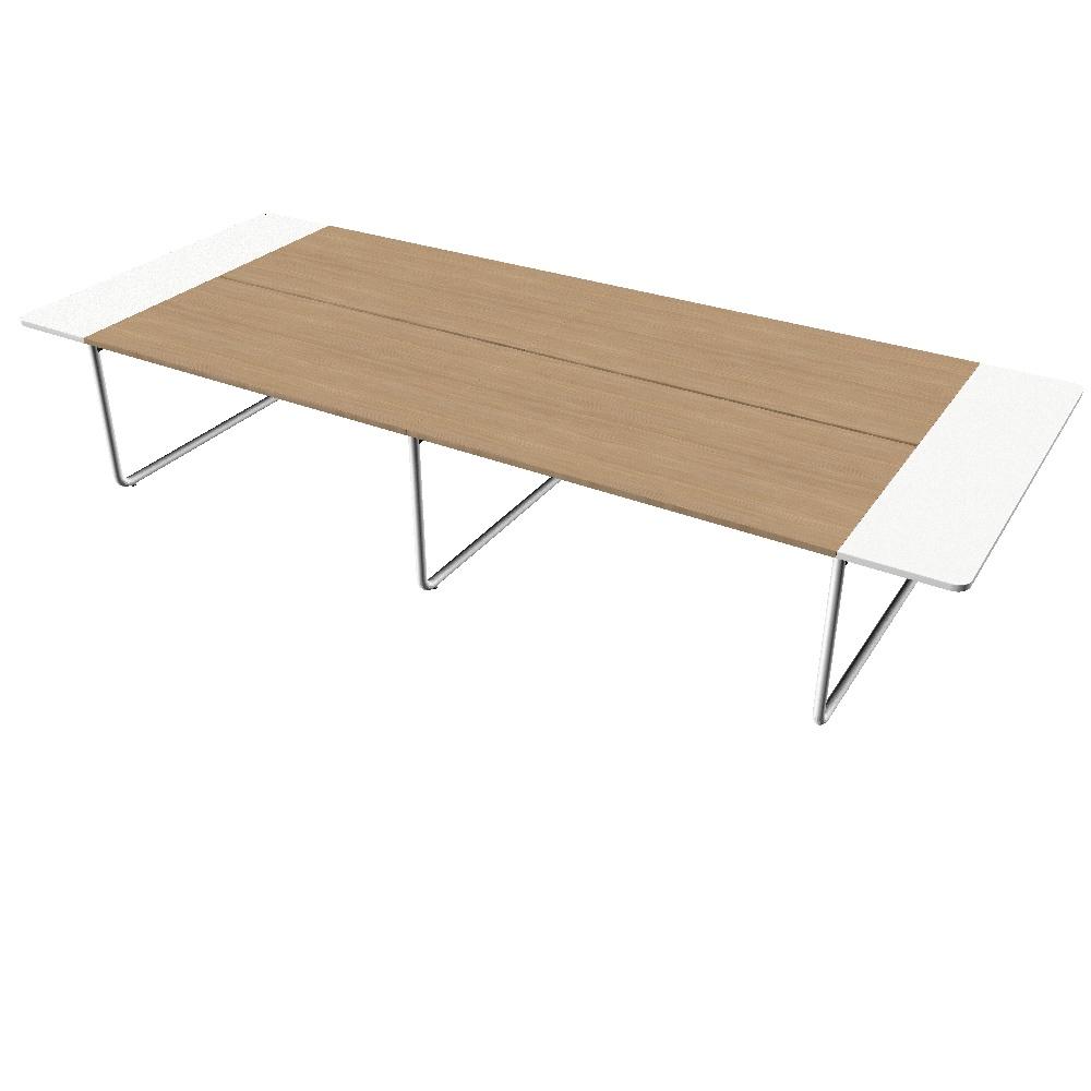 table de coworking et réunion