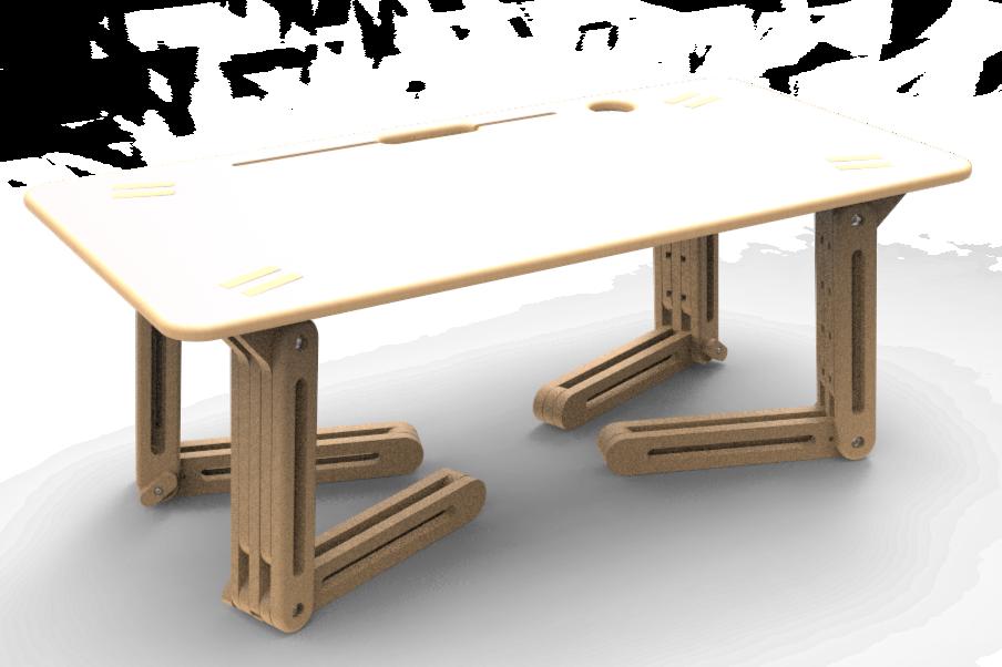 Table modulable
