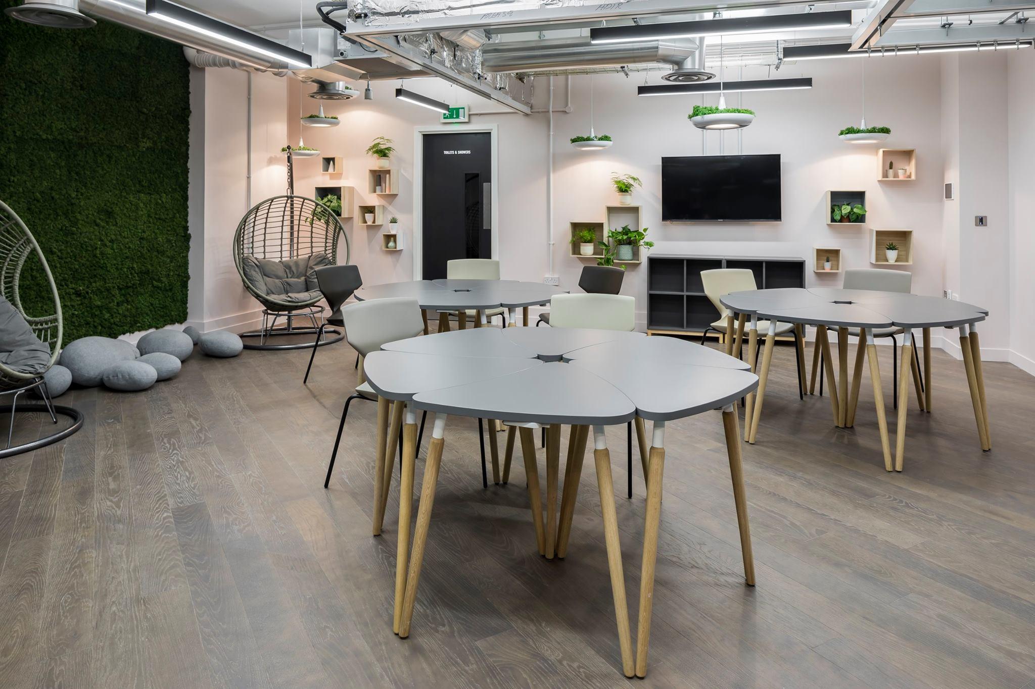 Table de réunion modulable design