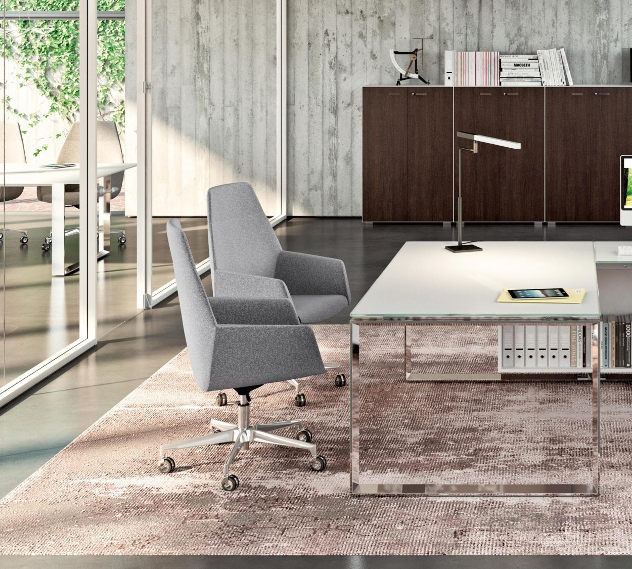 Bureau en verre design X7