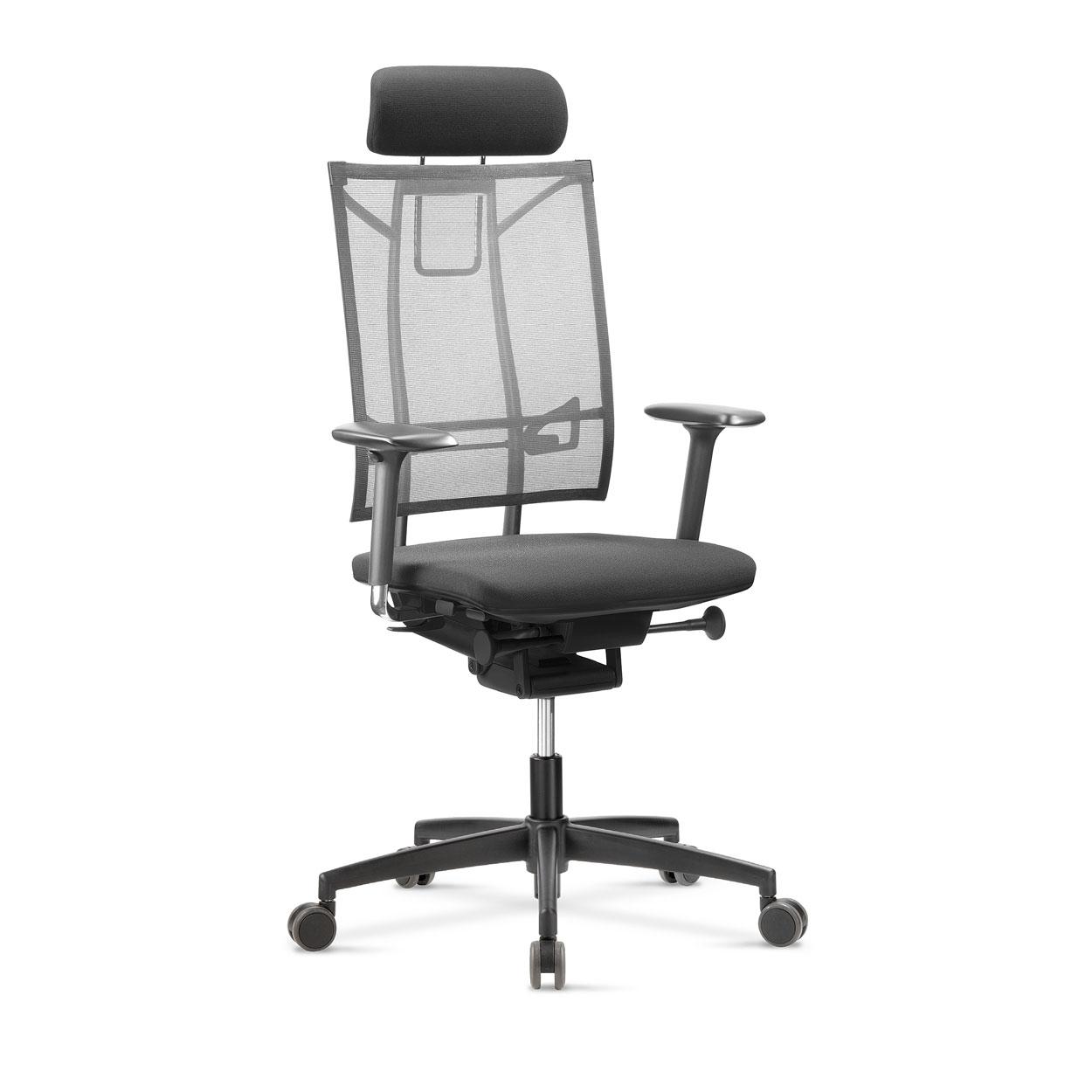 fauteuil de bureau ergonomique avec renfort lombaire. Black Bedroom Furniture Sets. Home Design Ideas