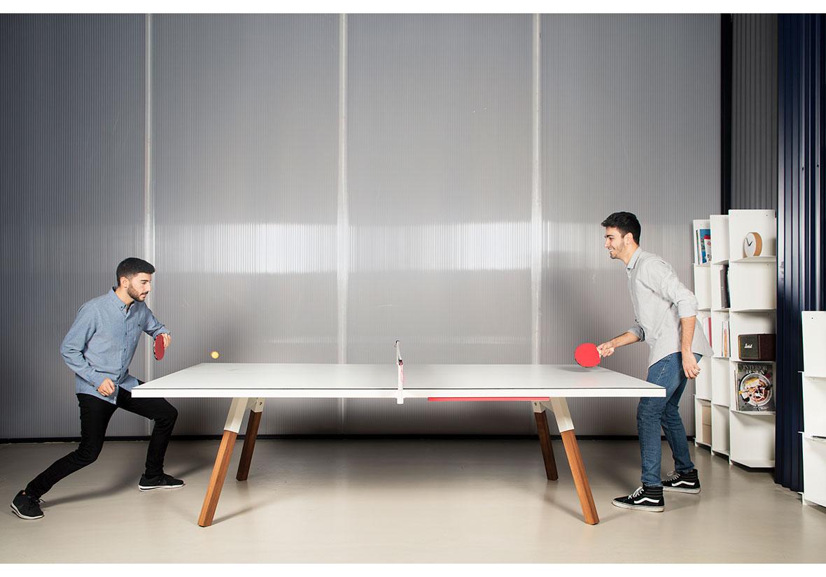 Table De Ping Pong Transformable table de réunion ping-pong (taille standard)