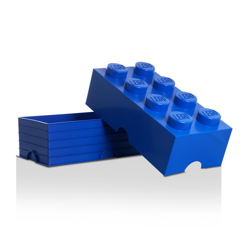Boite De Rangement Lego Bleue Kollori Com