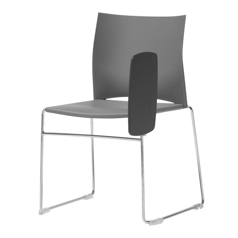 Chaise de conférence avec tablette Slim
