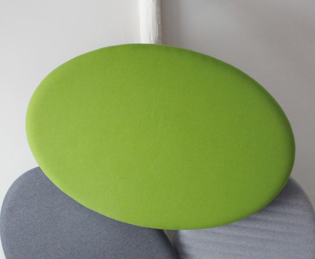 Panneau acoustique ovale