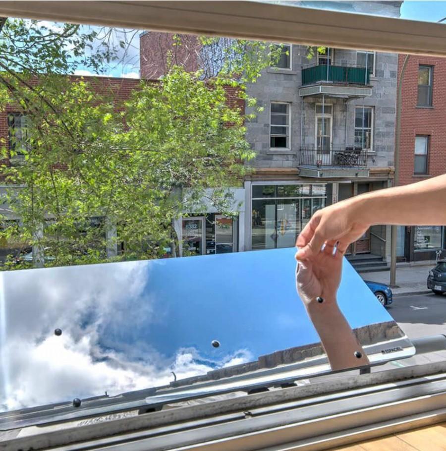Réflecteur fenêtre 100 cm