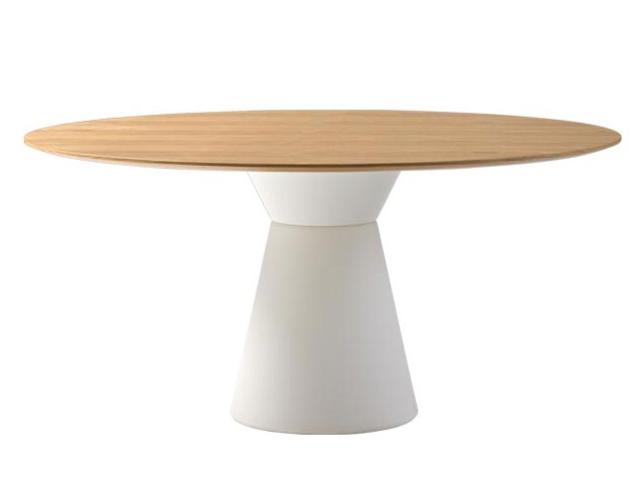 Table ronde Essens avec piètement central