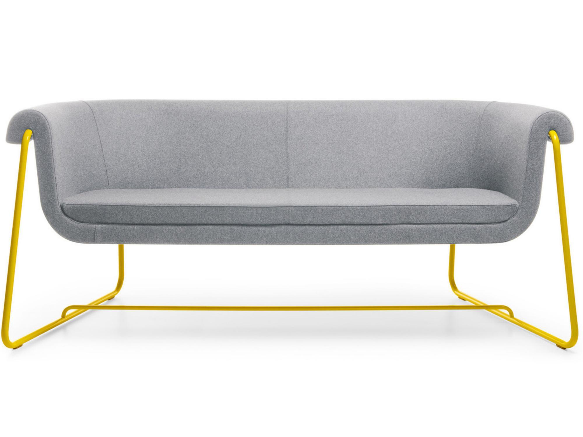Canapé design piétement métal Hover