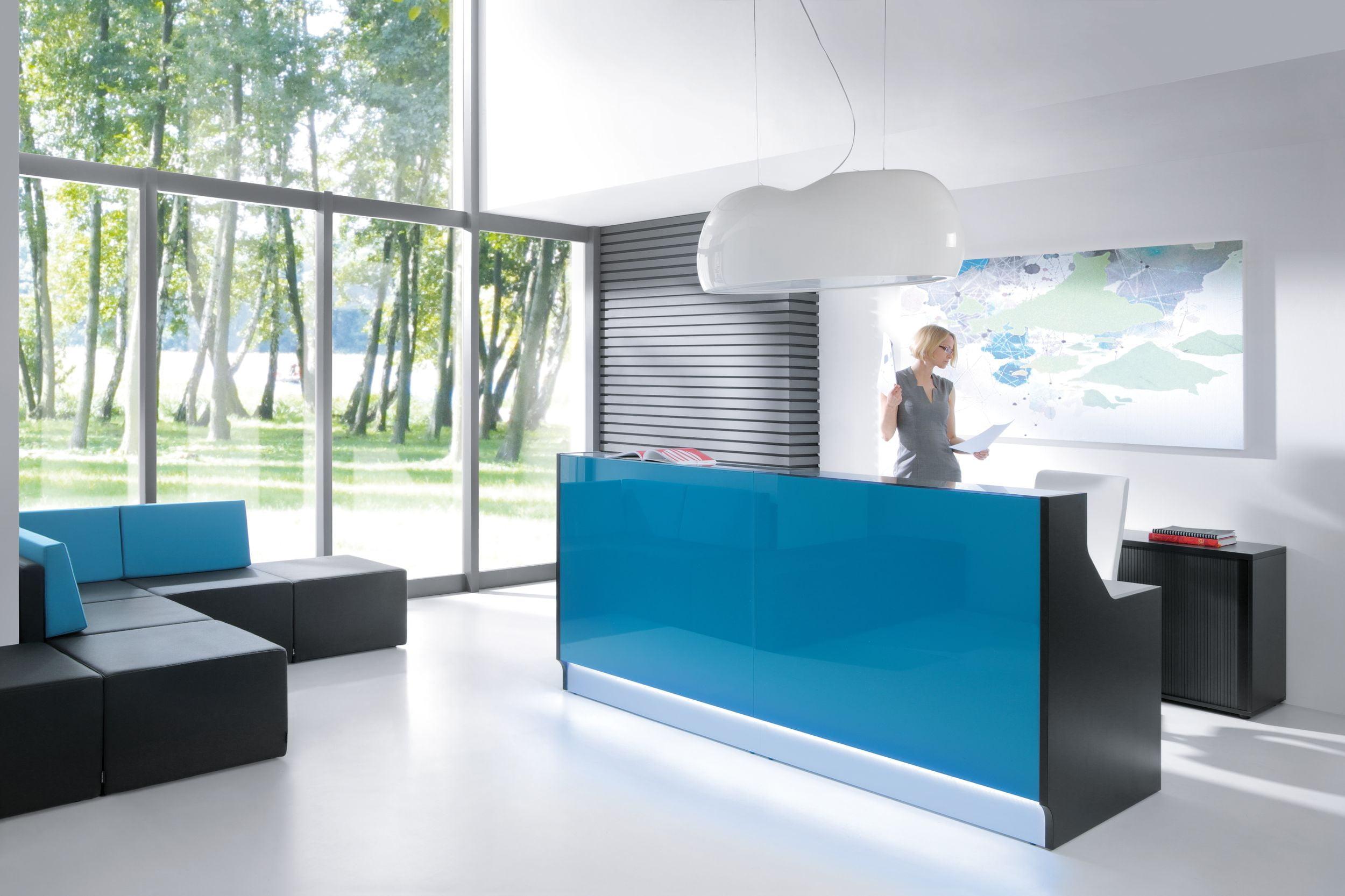 Banque d\'accueil simple Linea