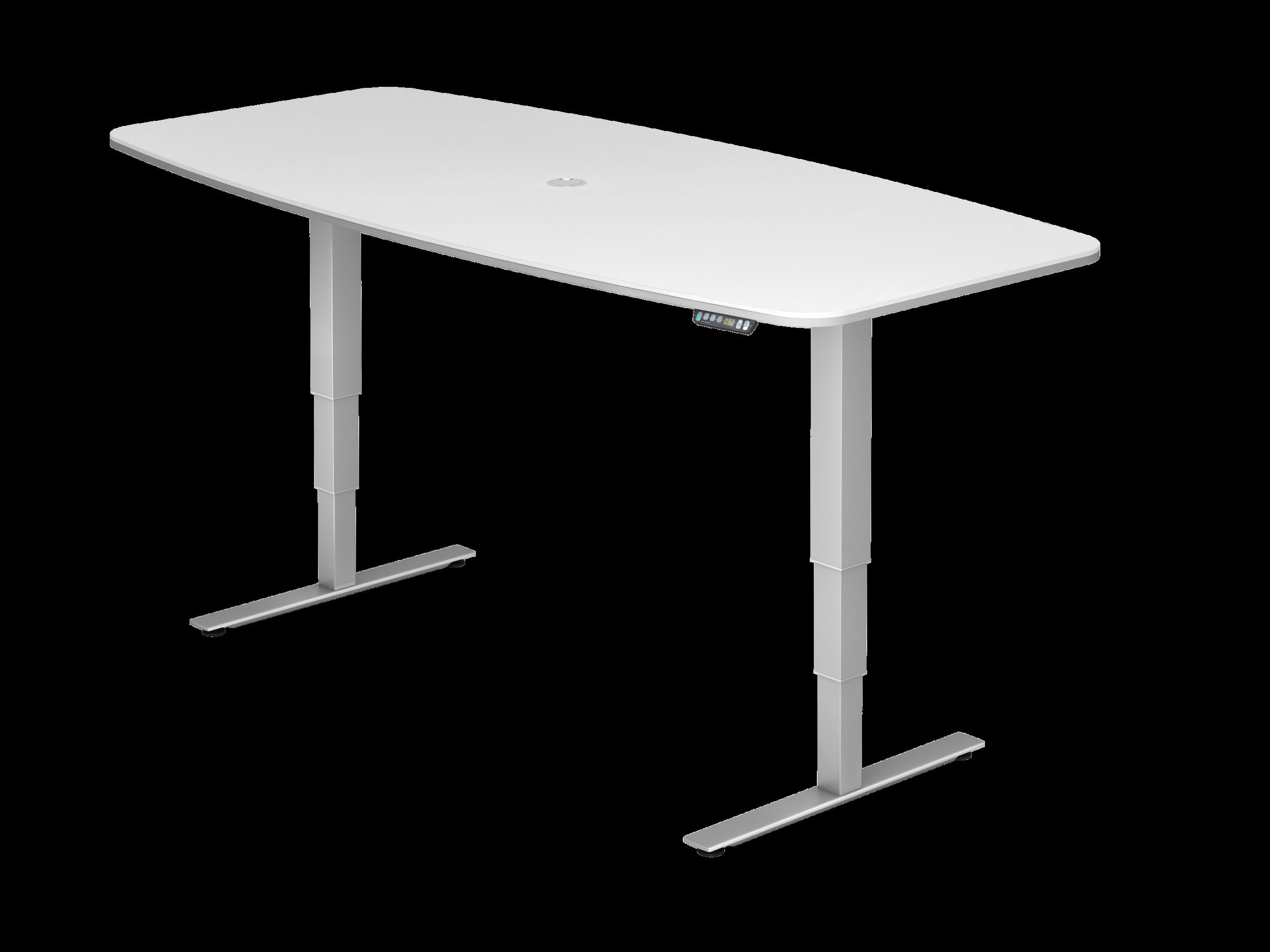 Table de réunion électrique réglable en hauteur (à mémoire)