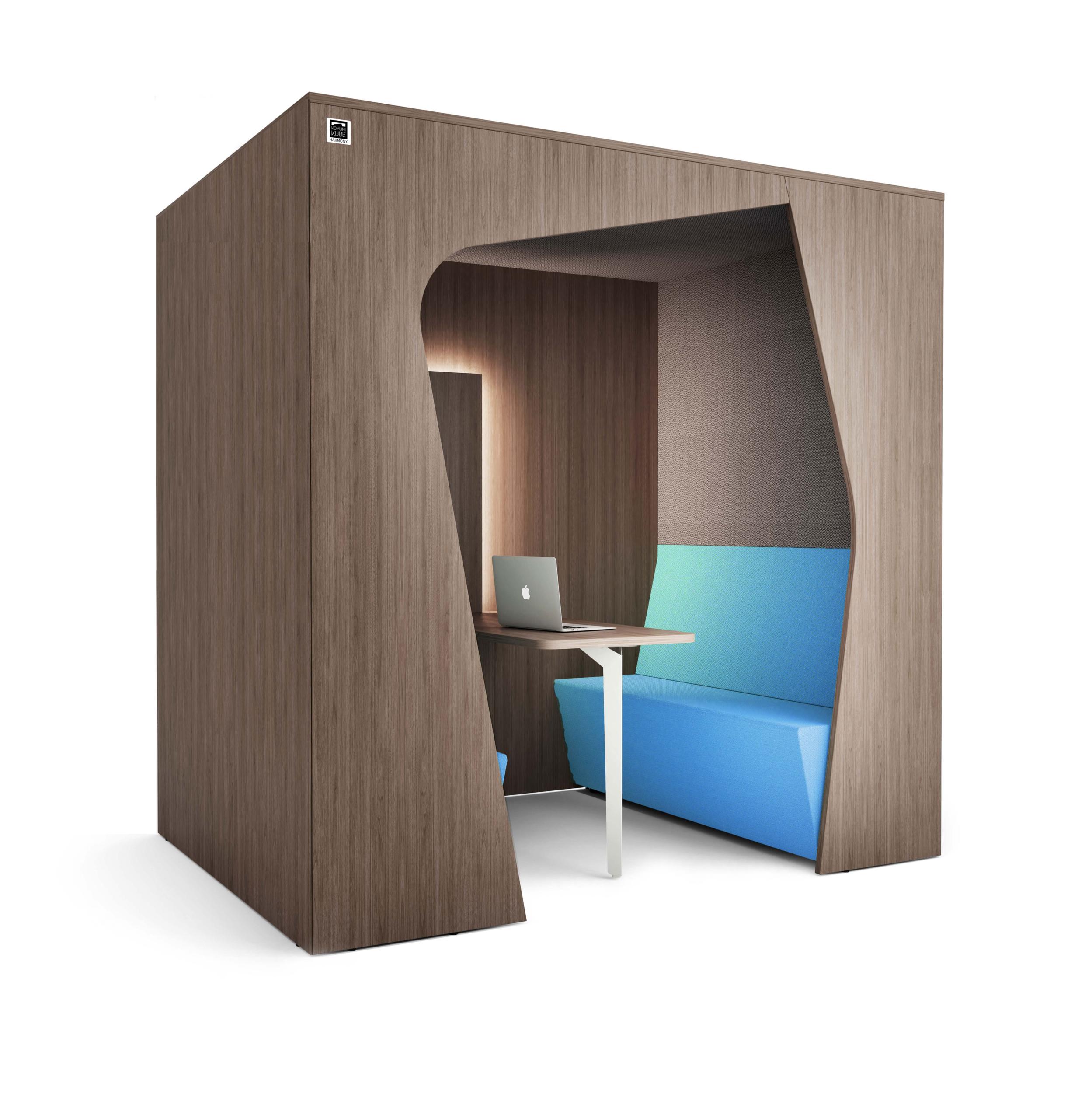 Espace confidentiel 4 personnes Komunikube