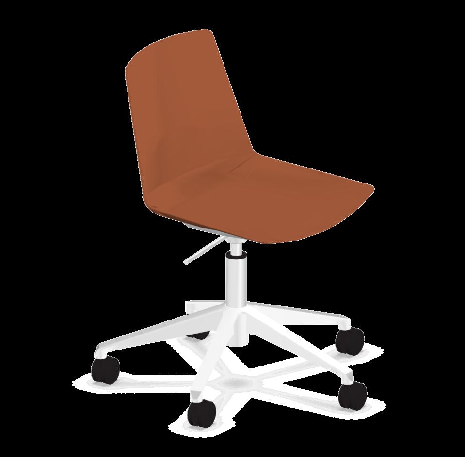 Chaise de réunion à roulettes Clue
