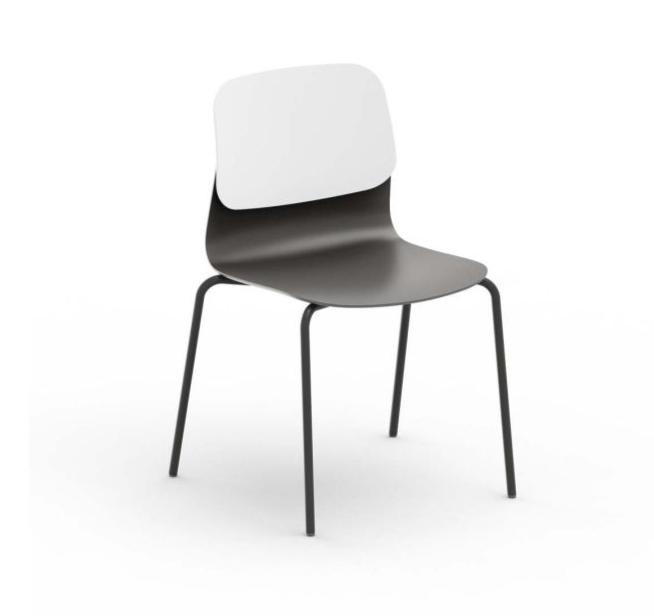 Chaise design Klik (Lot 3)