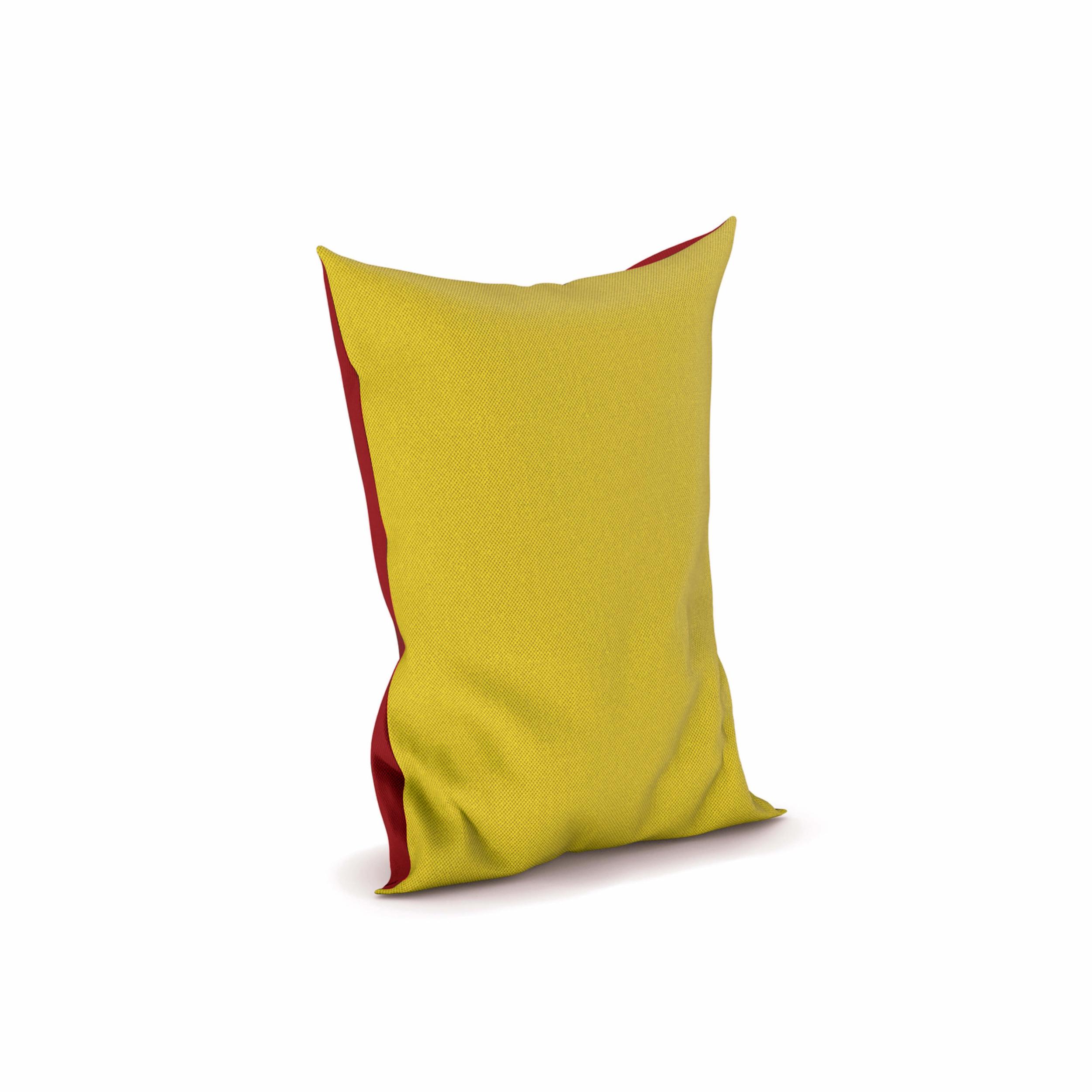 Grand pouf Snooz bicolore