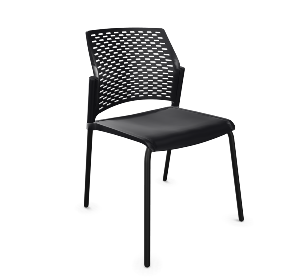 Lot de 2 chaises polypropylène Split