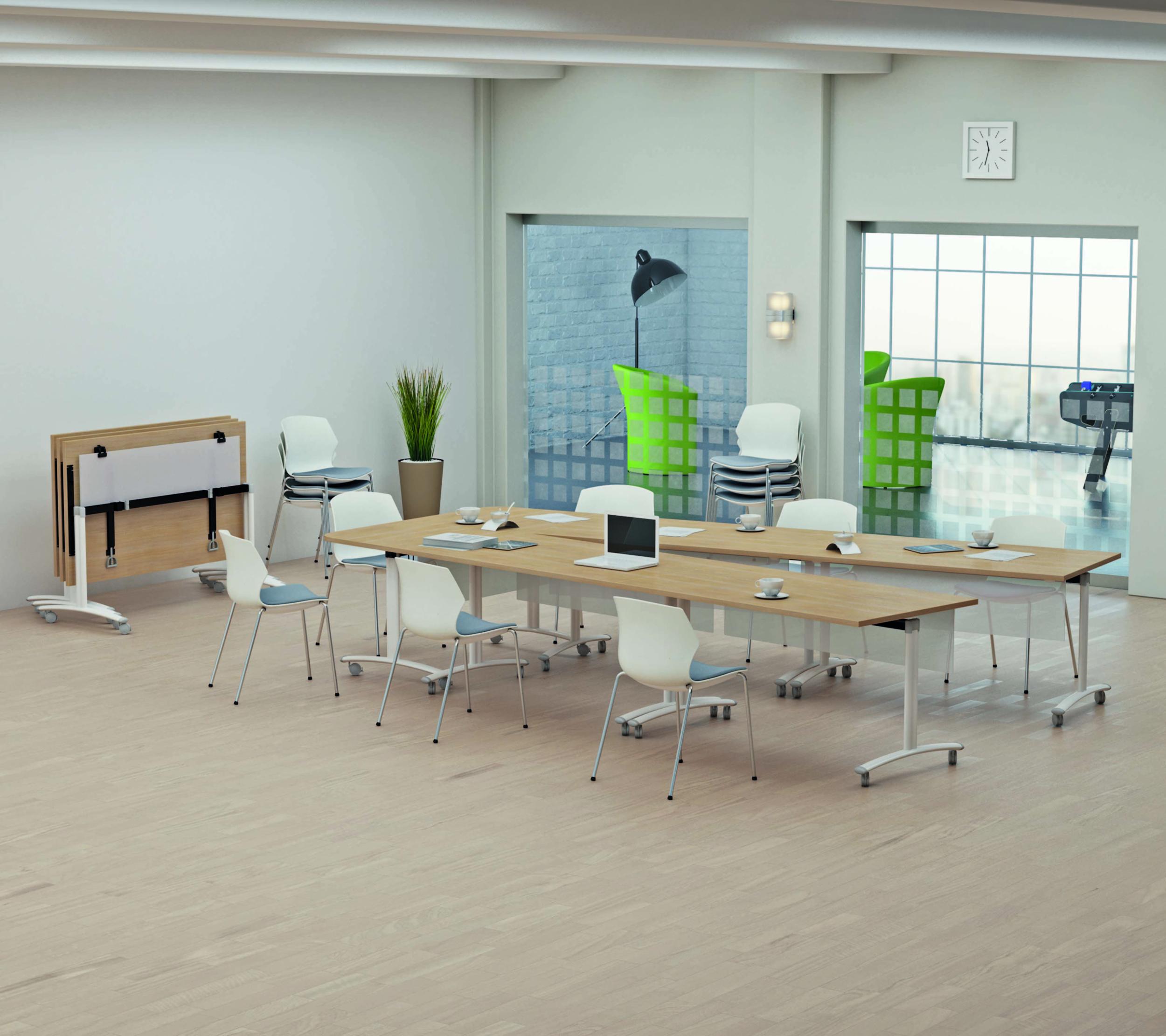 Table pliante de réunion Fold