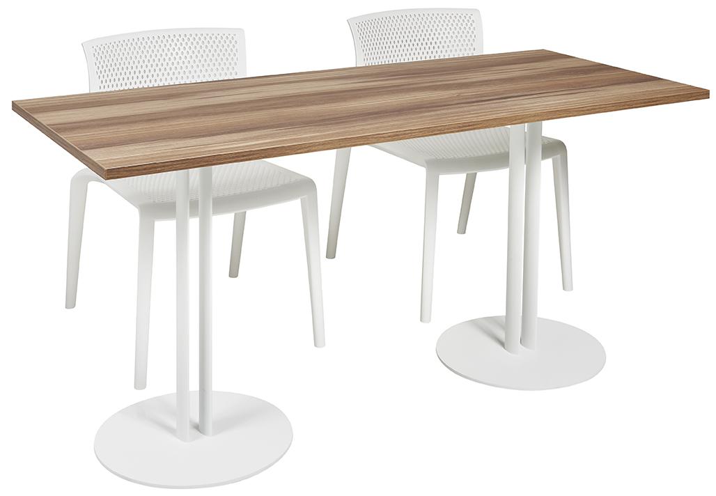 Grande table de cafétéria Roxane