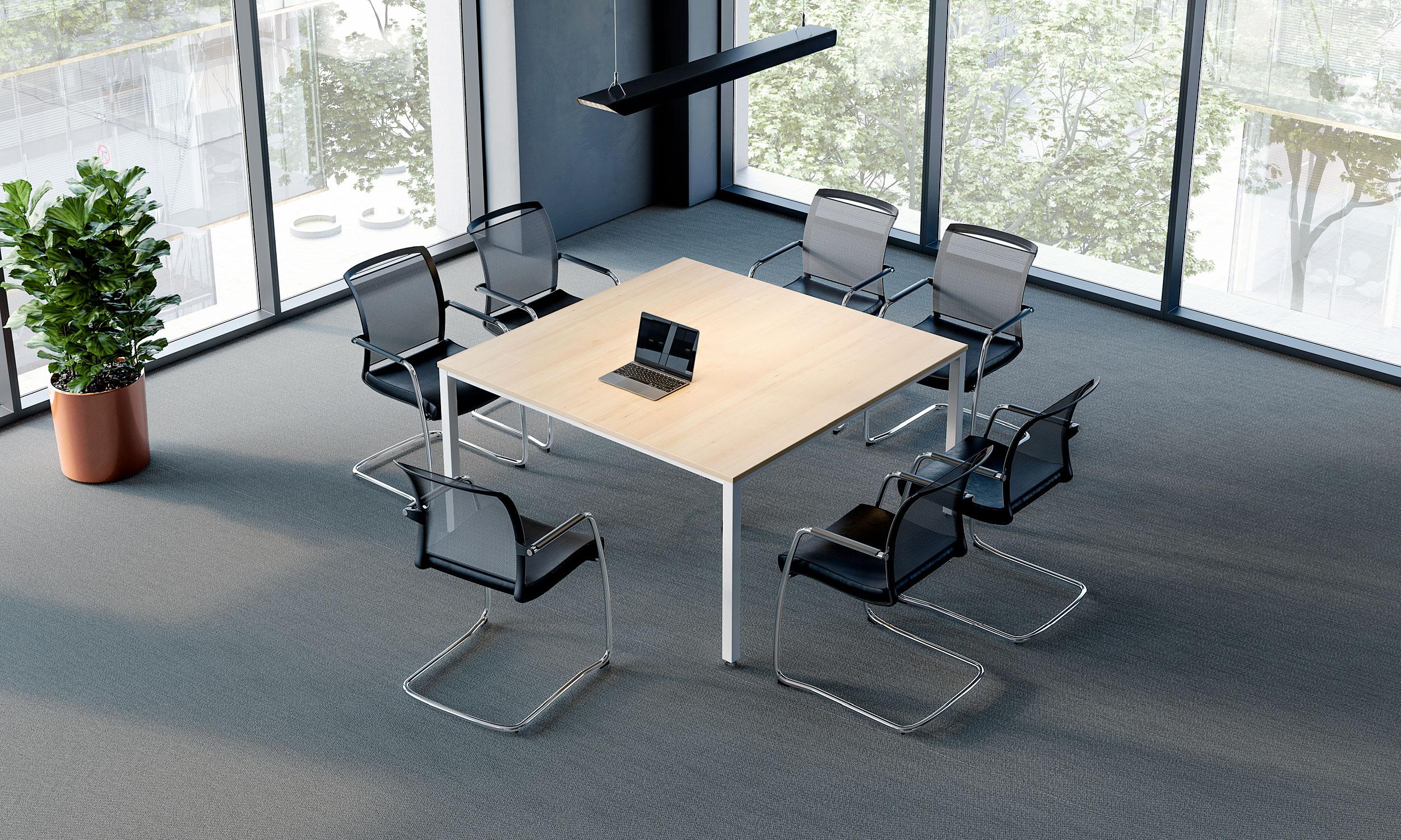 table-de-réunion-carrée-simpe