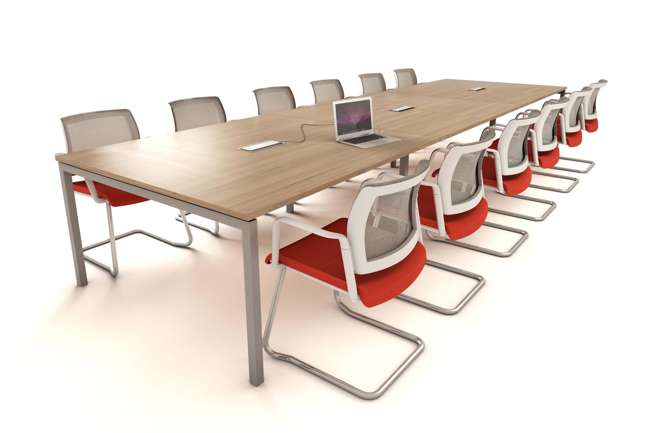 Table de réunion Cinetic pieds arche