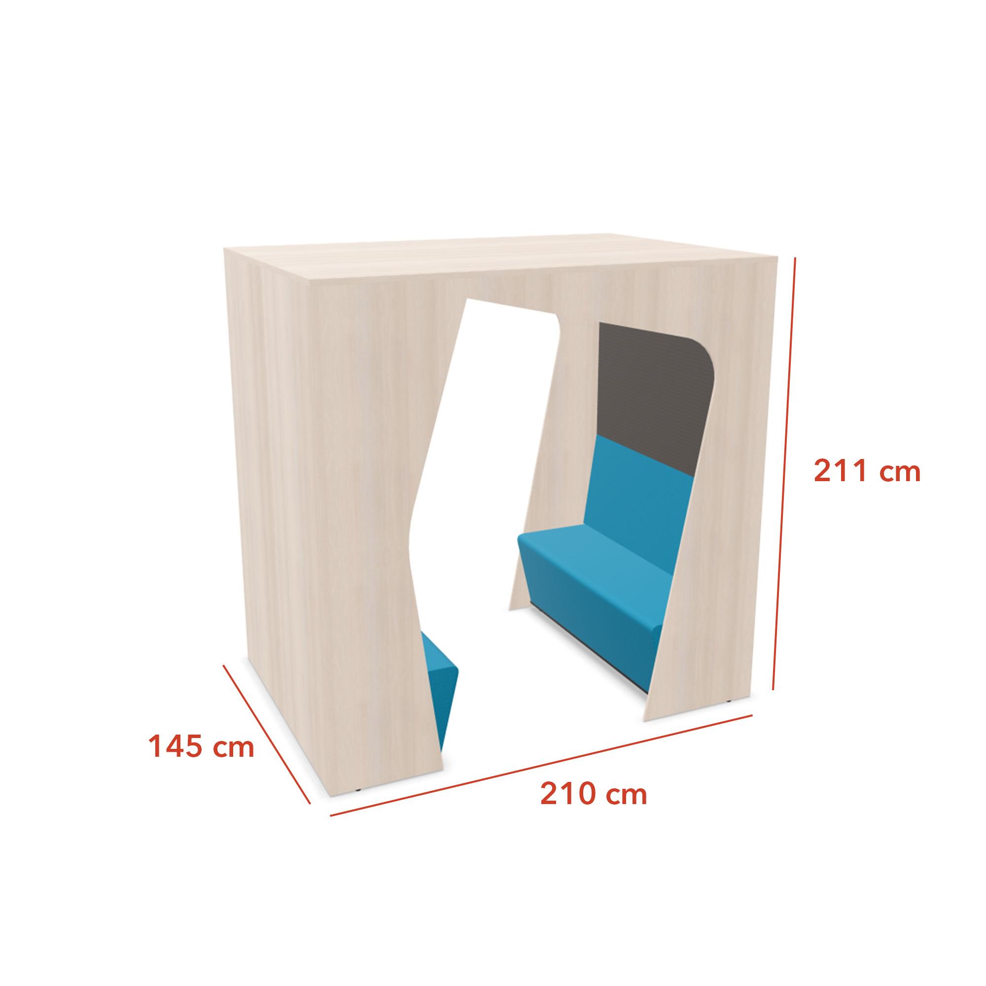 box-komunikube-4-personnes-ouverte