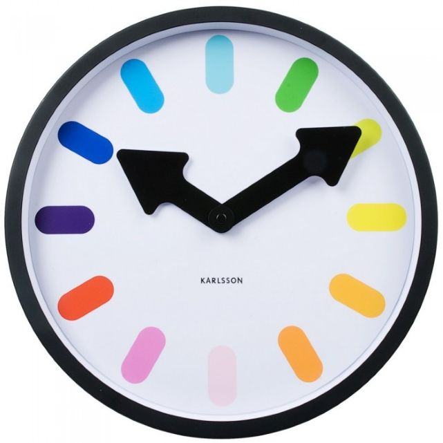 Horloge design color e - Horloge de cuisine design ...