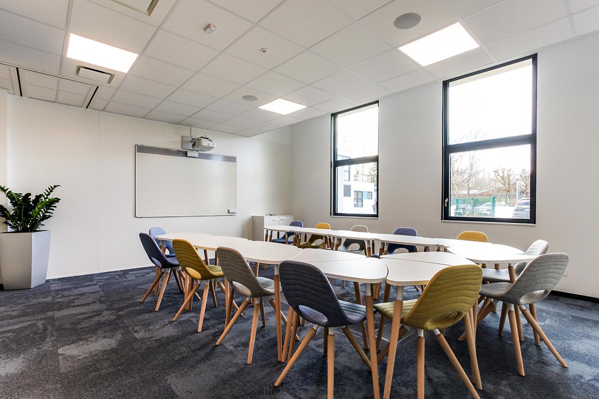 Chaise de réunion Tauko  tapissée