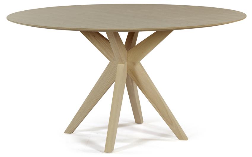Table ronde en bois Cross
