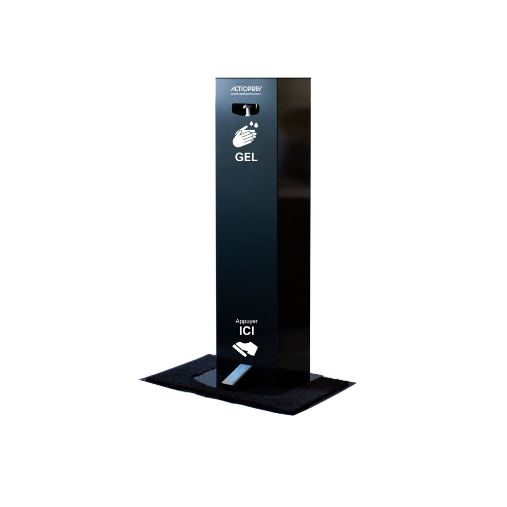 Borne sanitaire distributeur de gel hydroalcoolique Actioprev