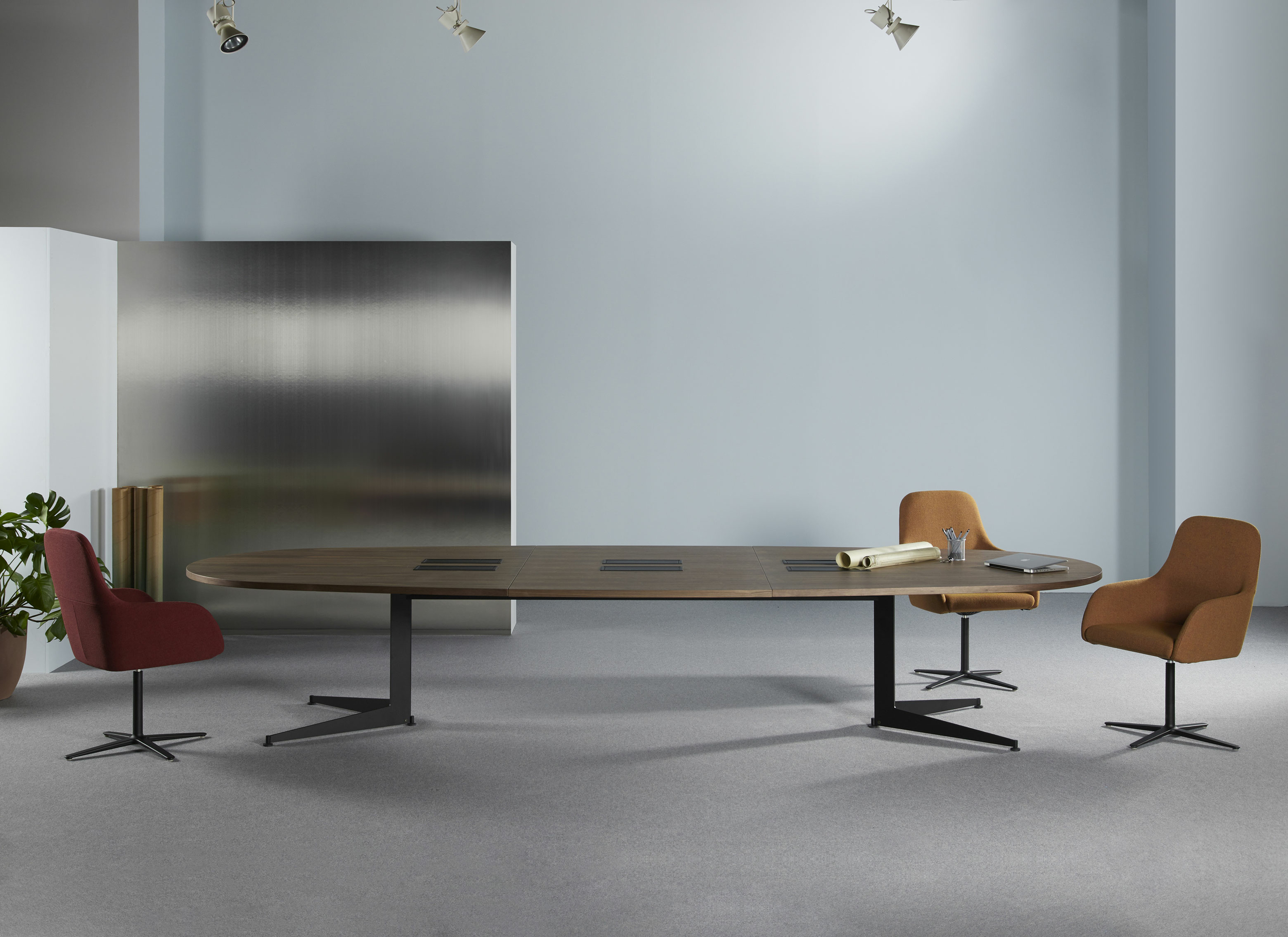 Grande table ovale Usoa