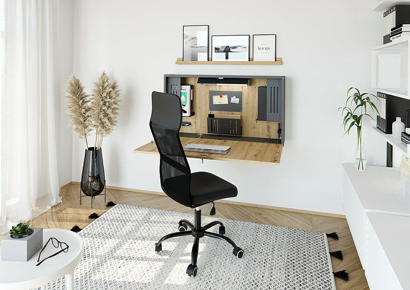 Bureau mural rabattable Mini Office