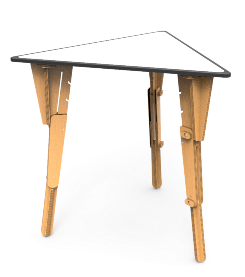 Table modulable triangulaire Omni