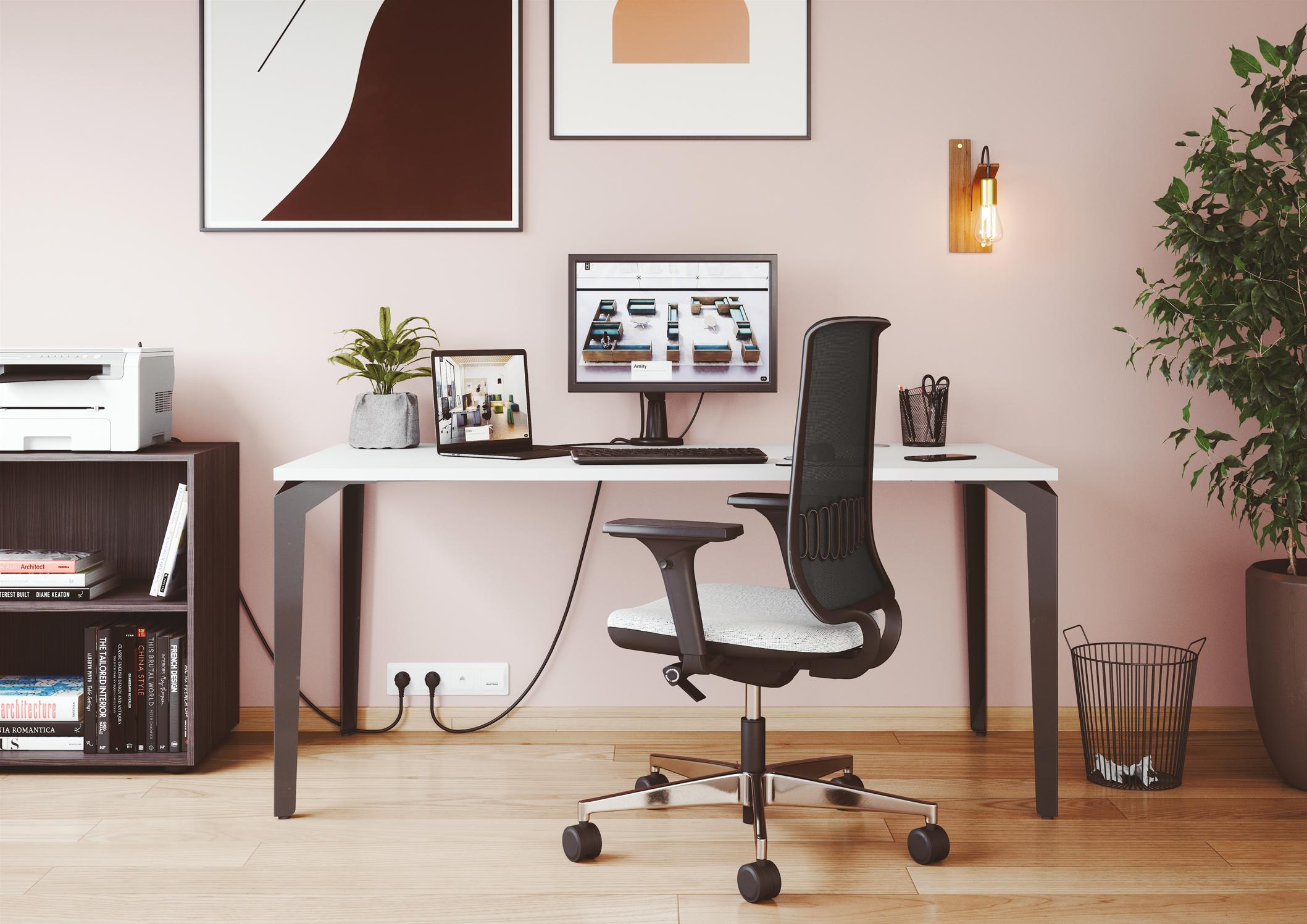Bureau individuel design paris pour espace tertiaire