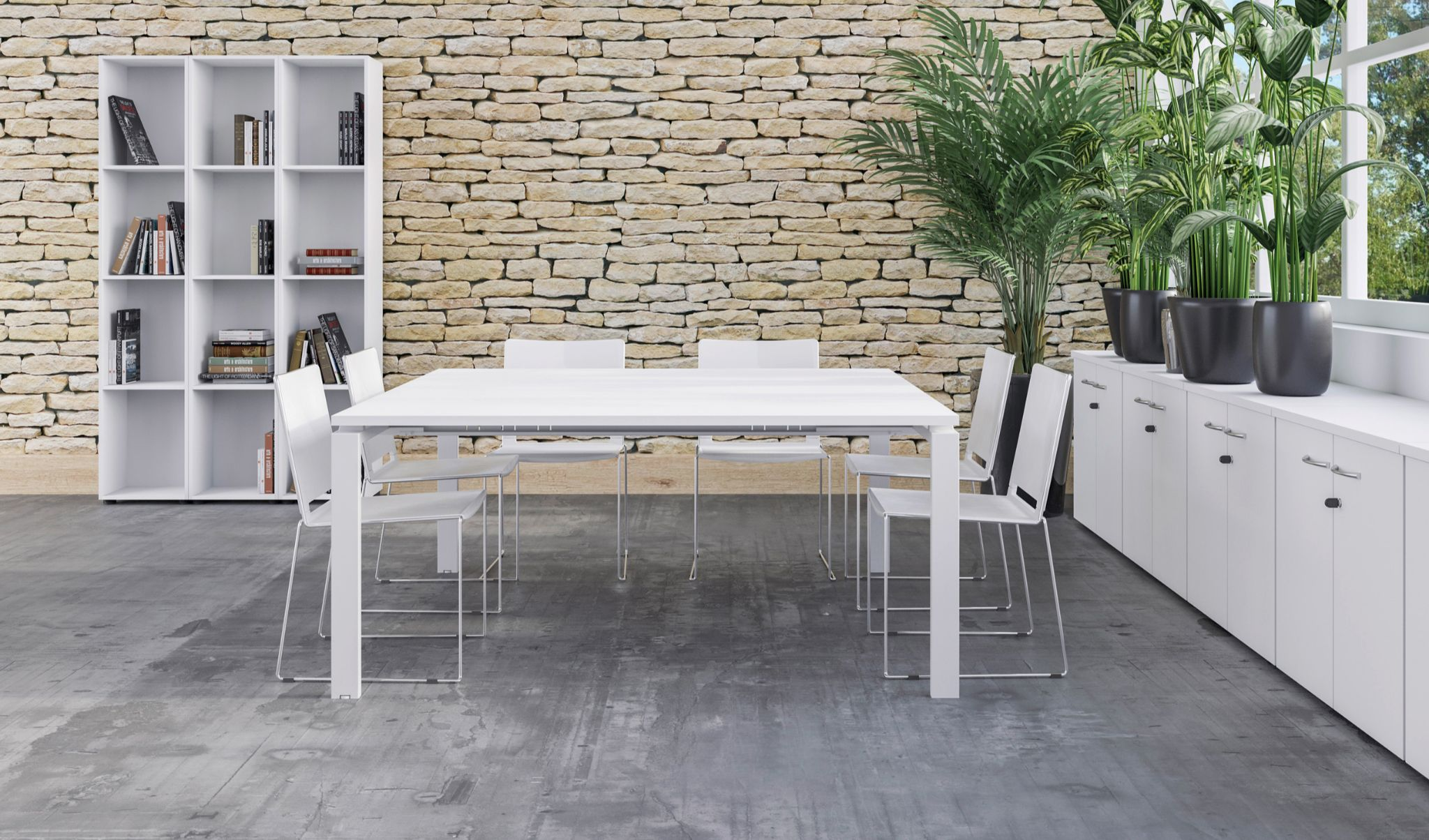 Table de réunion Astro