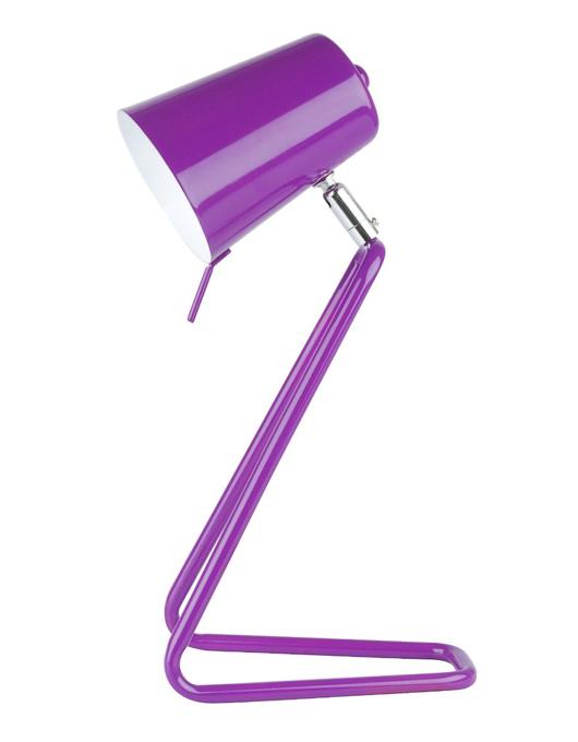 petit lampe de bureau violette. Black Bedroom Furniture Sets. Home Design Ideas