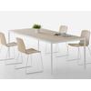 table de réunion bureau en bois