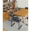 chaise noir et bois salle de réunion