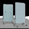 tableau magnétique mobile bleu clair