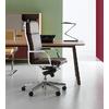 fauteuil de direction contemporain en simili cuir